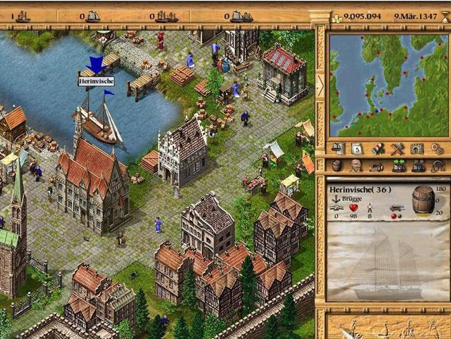《大航海家3》是一款即时制的贸易模拟类游戏,包含大量的建造元素,并以14世纪北欧地区的航海贸易作为游戏的历史背景。作为地中海小镇的一名普通居民,你的目标就是从一名单纯的无名商人成为一位伟大的航海家,并有可能成为汉萨同盟的最高领袖。 玩家可以选择通过合法的城镇间交易来建立自己的贸易帝国,亦或是选择走私等手段来填满你的金库。 为你的城镇建造仓库,铸造厂,学校,谷仓等等一系列设施,成为一名合格的总督。 经营繁杂的贸易系统,应付各种季节天气的影响。 与海盗以及对手进行大规模的海战。
